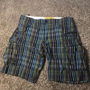 Polo by Ralph Lauren Plaid cargo Shorts / Logo